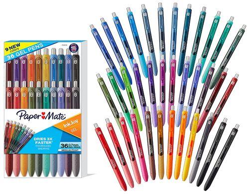 Best Luxury Colored Gel Pens, PaperMate InkJoy Gel Pens (36-Piece Set)