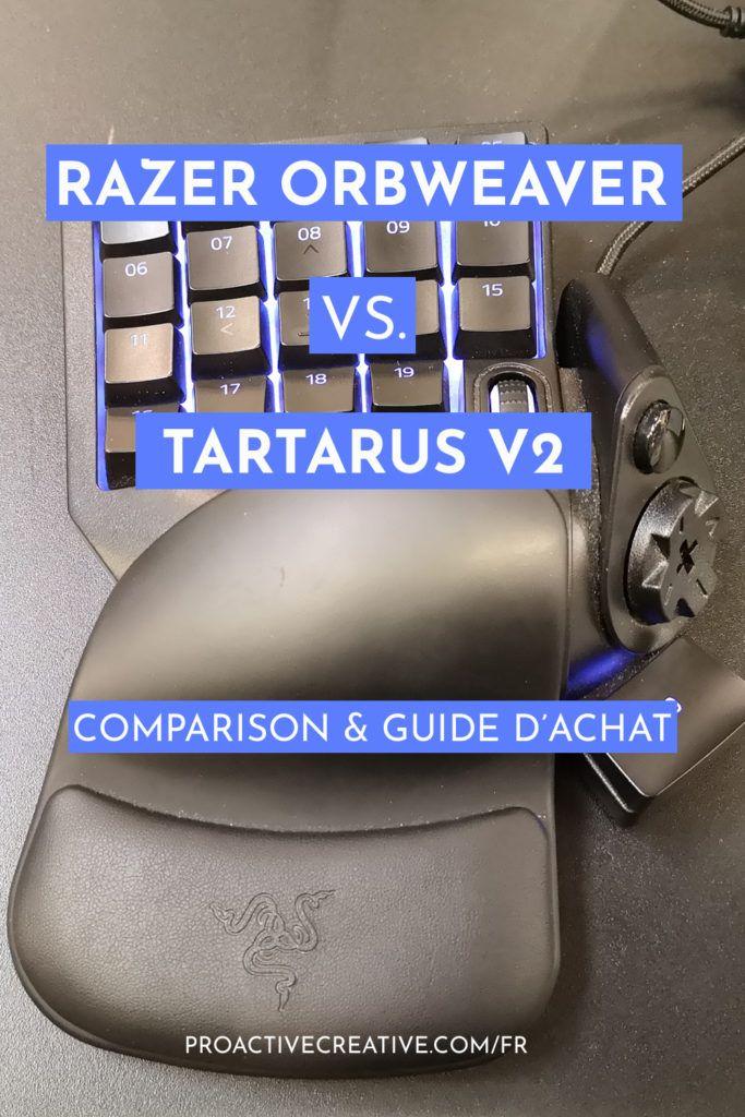Razer Orbweaver vs. Tartarus V2